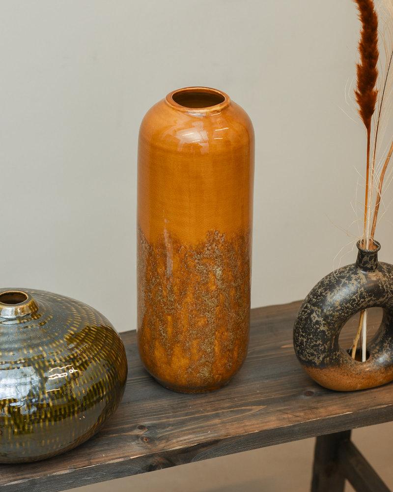 Vase Ceramic Green
