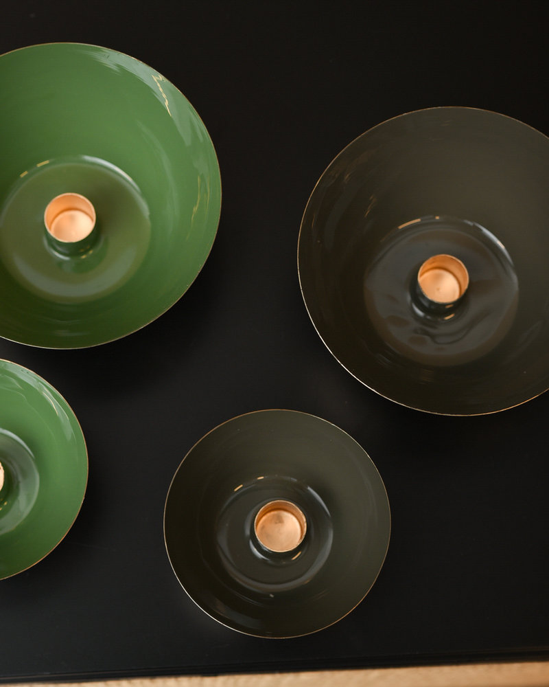 Padru Candle Holder Green