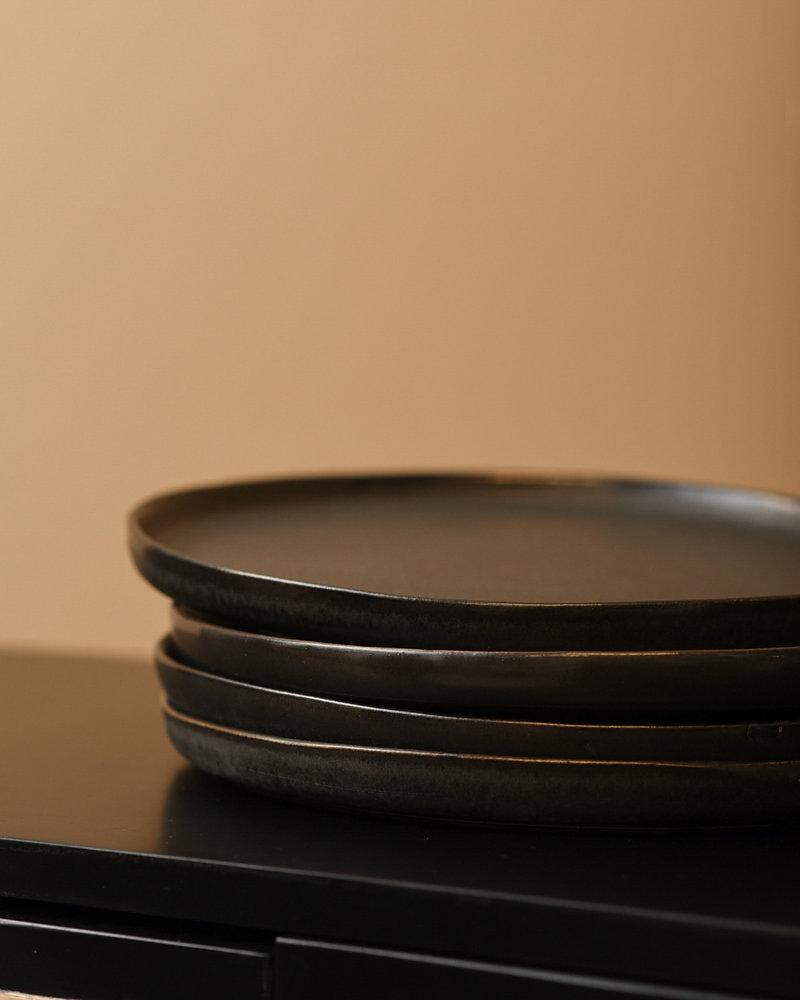 Dinner Plate Matte Black