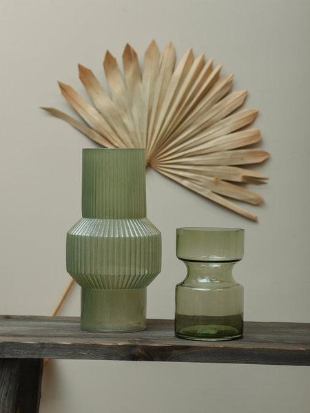 Vase Leila Glass Green Big