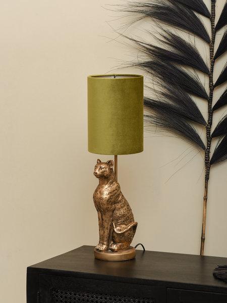 Lamp Leopard Gold + Shade