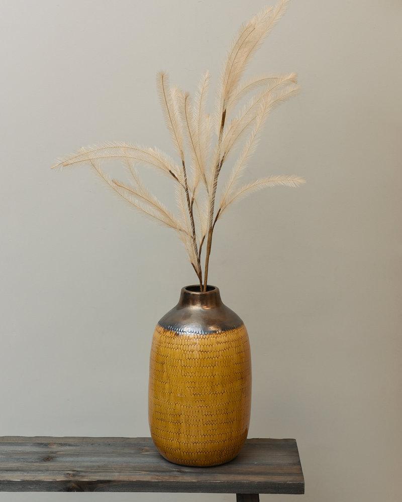 Vase Ceramic Yellow
