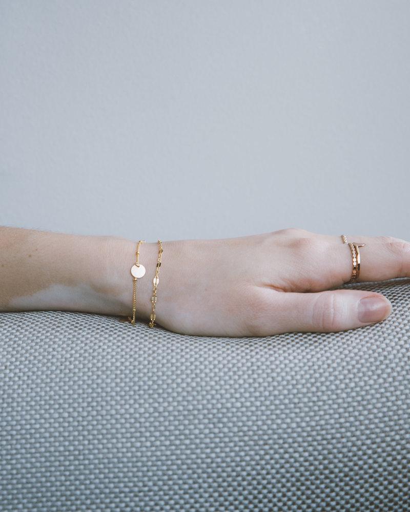 Bracelet Midnight Goldfilled