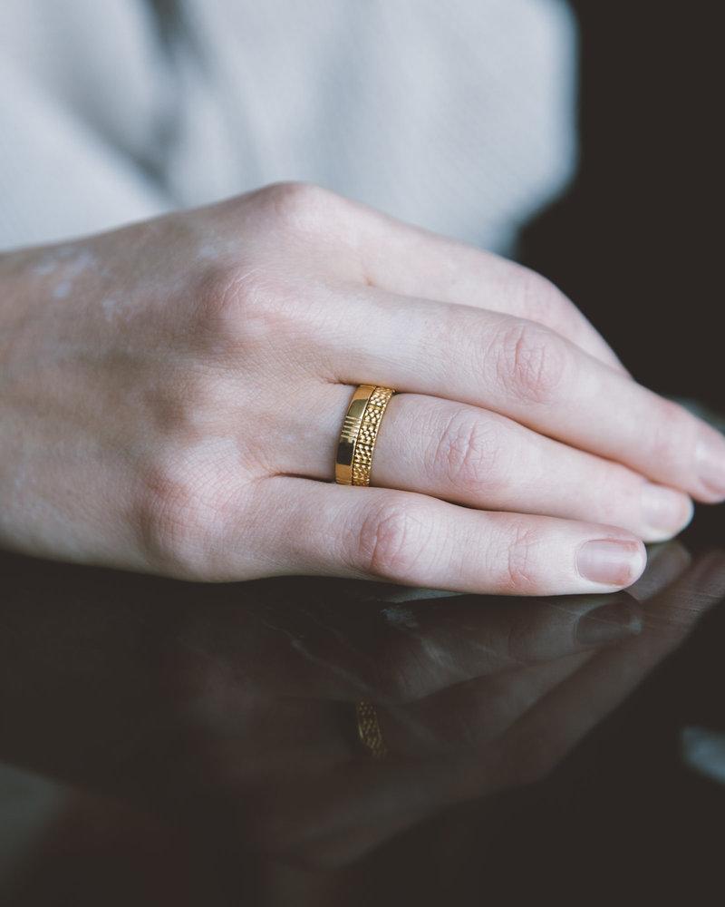 Five Ways Ring Gold
