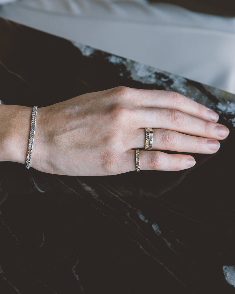Five Ways Ring Silver