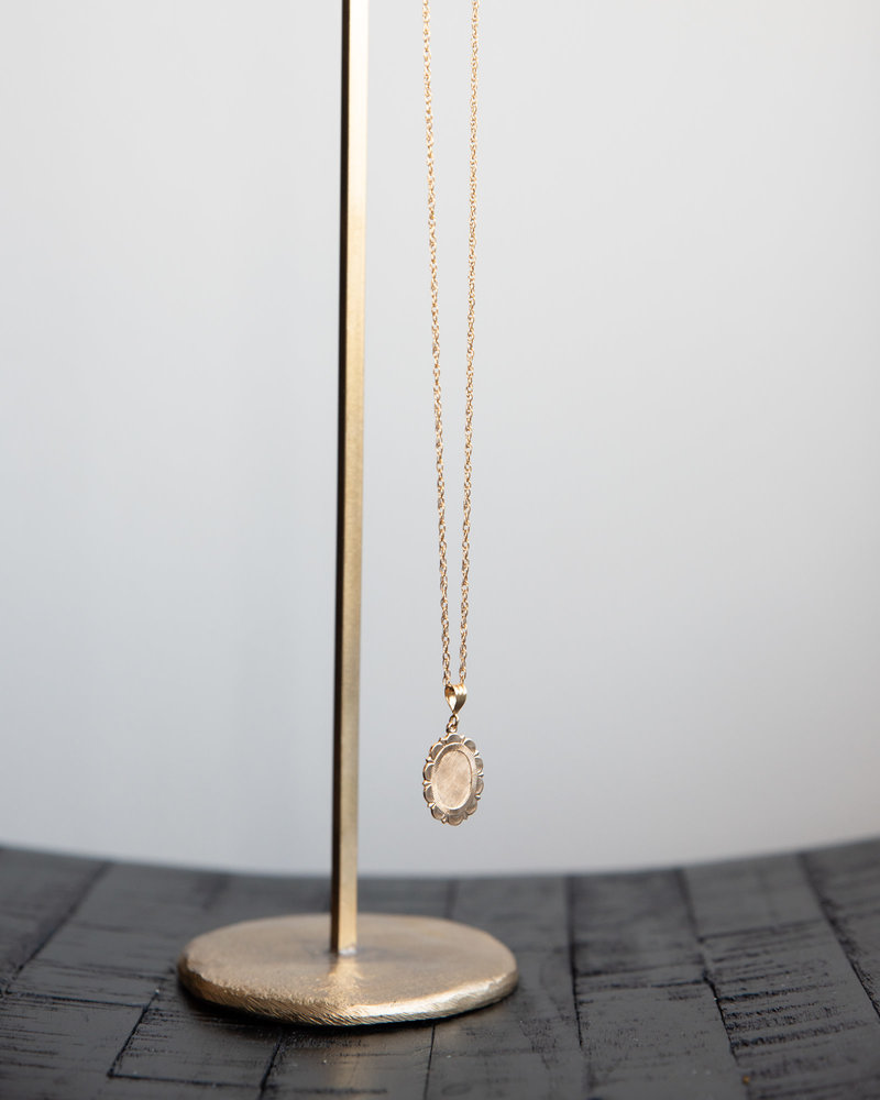 Rope Necklace Goldfilled