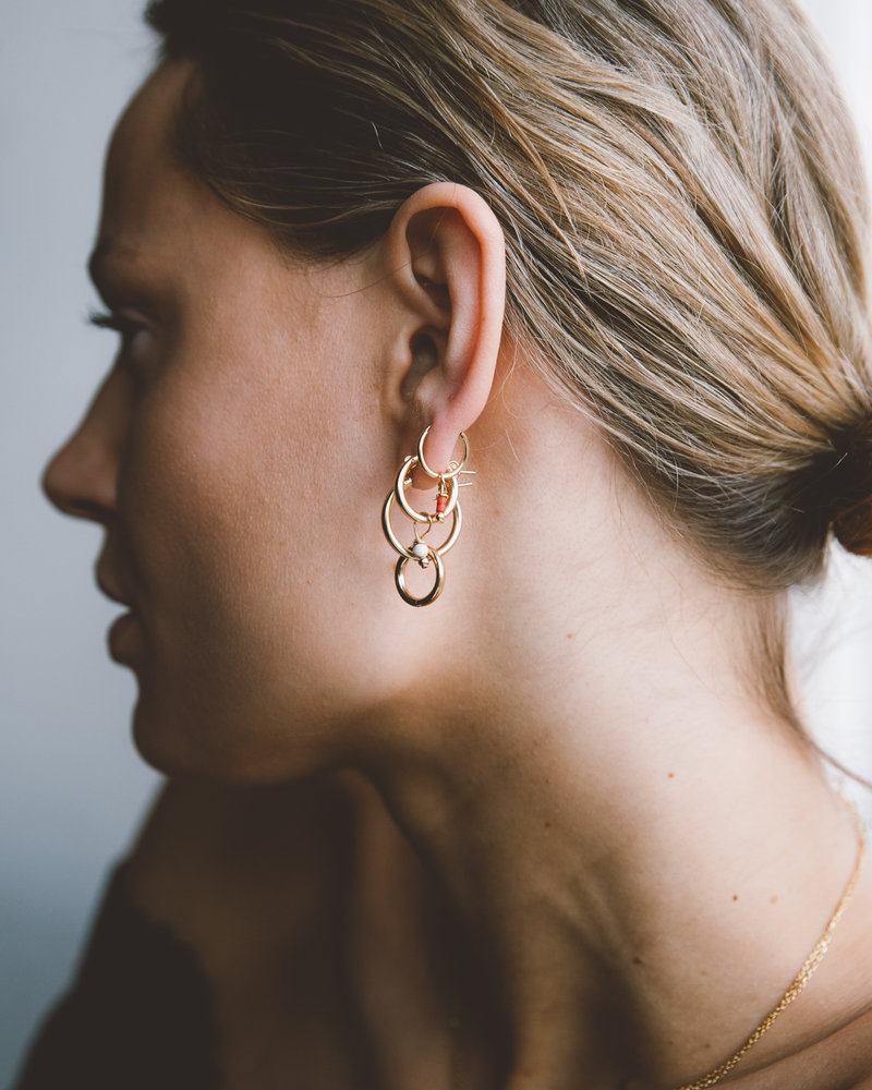 Classic Hoop 12mm Goldfilled
