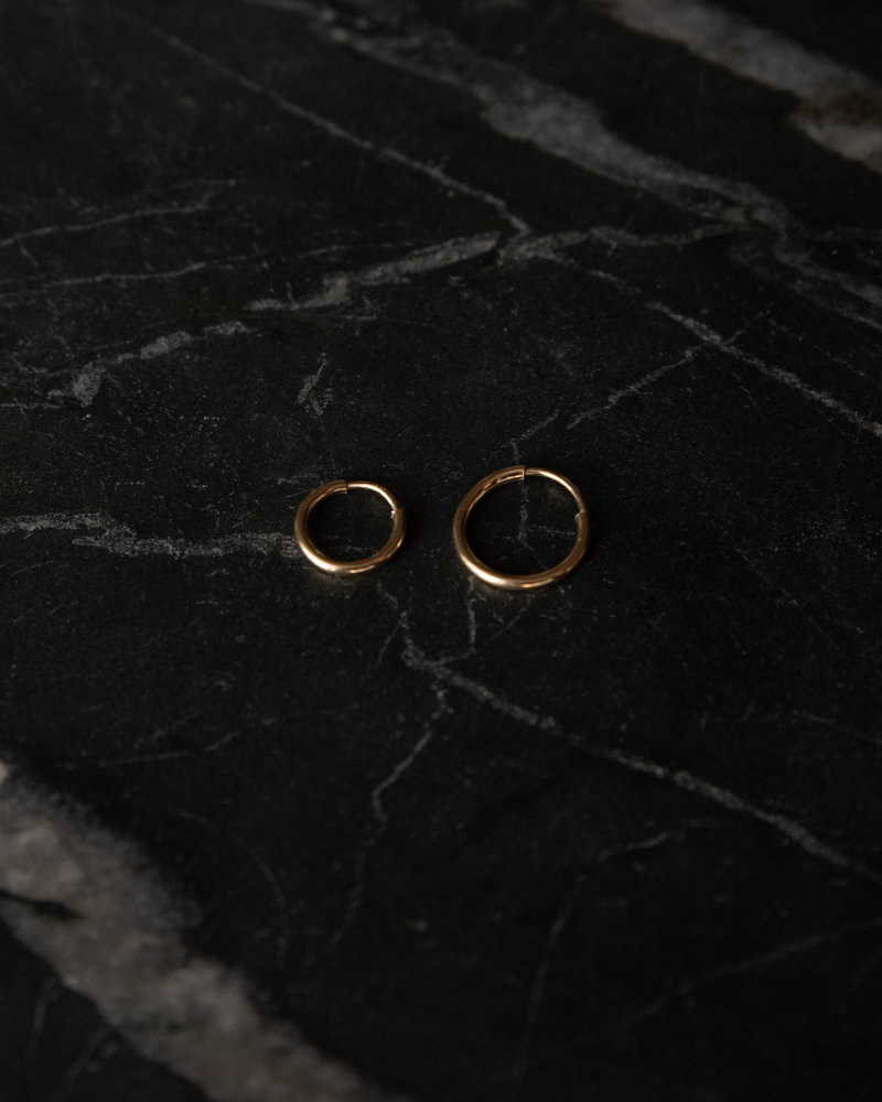 Classic Hoop 9mm Goldfilled