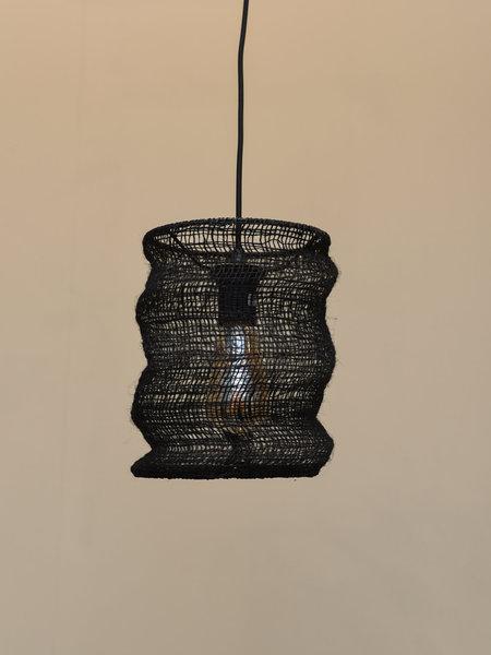 Hang Lamp Jute Black
