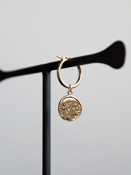 The Two Collectors Earring Charm Livorno Goldfilled