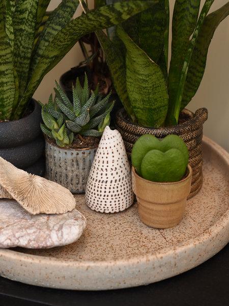 D&M Depot Ceramic Tray Beige