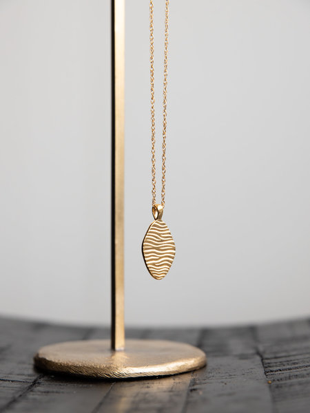 Wild things Water Ripple Pendant Gold Plated