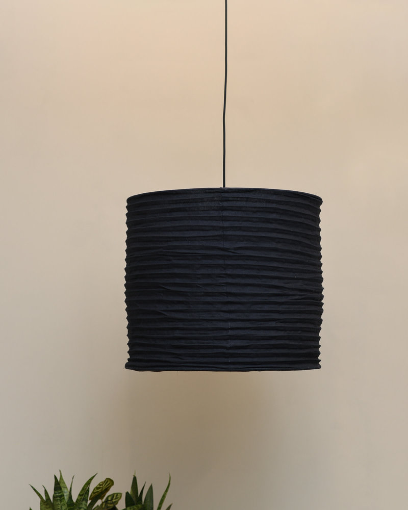 Pendant Light Linen Black/Grey