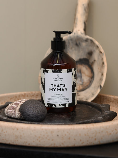 The Giftlabel Body Wash Men That's My Man