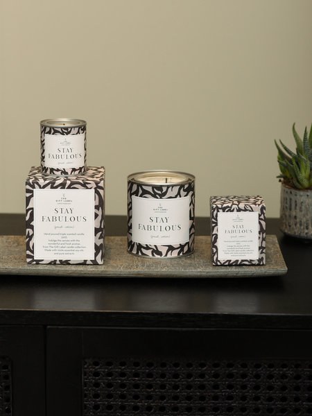 The Giftlabel Stay Fabulous Candle