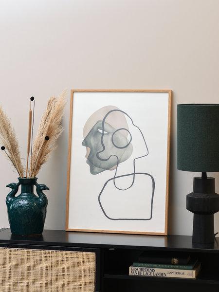 Paper Collective Art Print Comedia 50 x 70