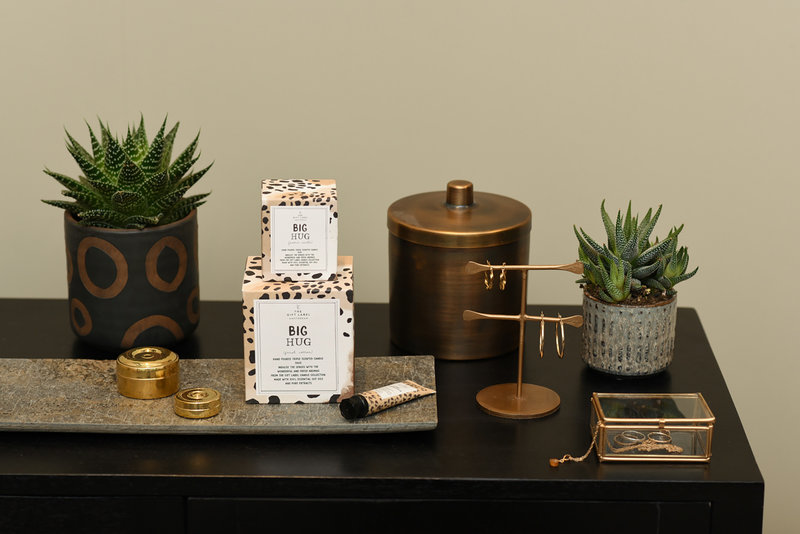 Box Deco Brass