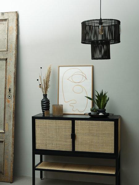 Pomax Hang Lamp Carmen Rotan
