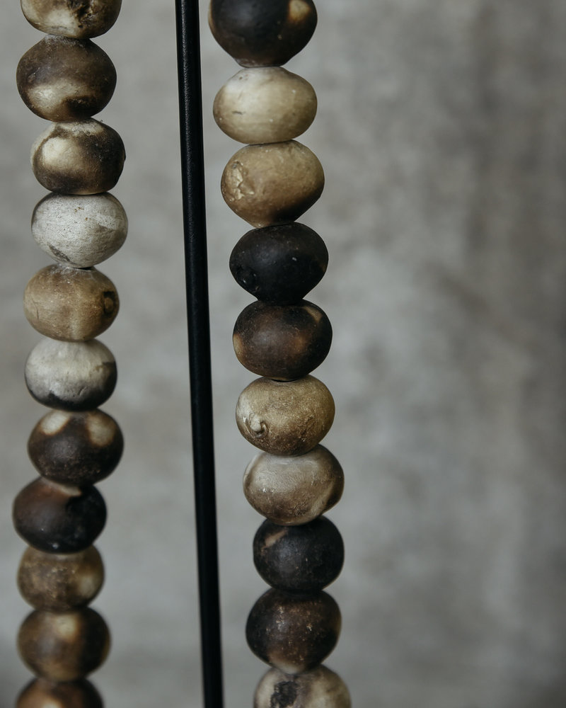 African Necklace Brown Beads