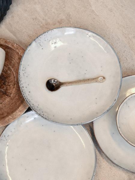 Broste Cake Plate Sand