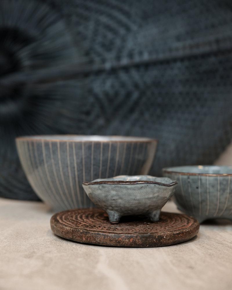 Bowl With Feet Sea