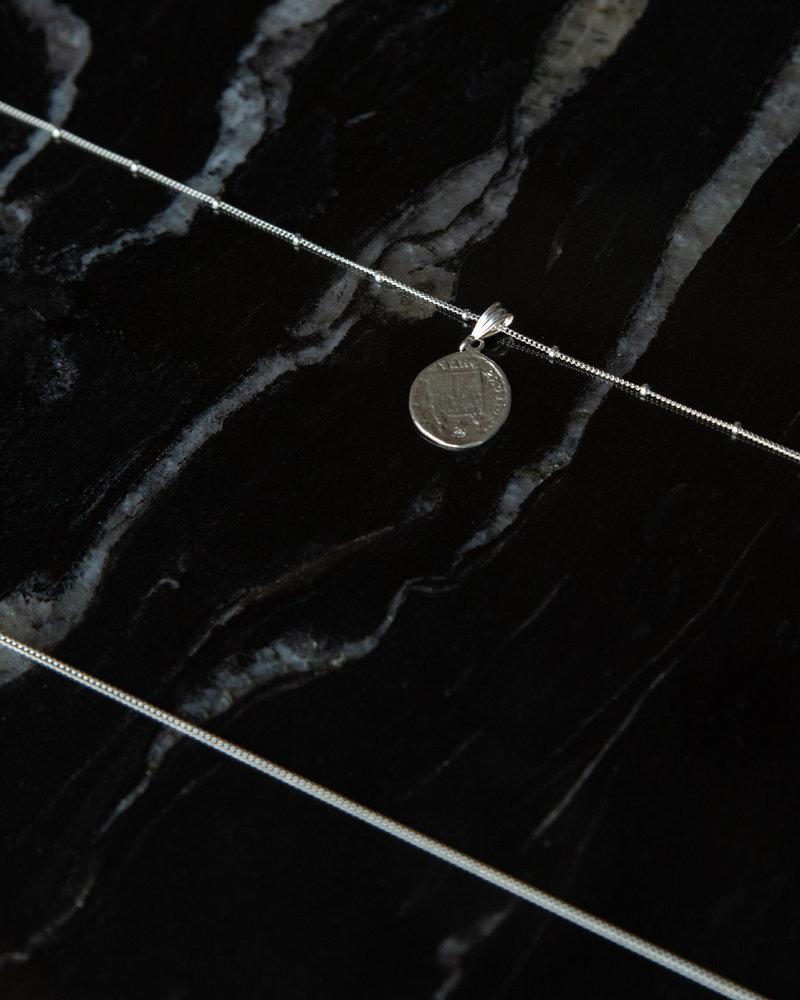 Galaxy Necklace Silver
