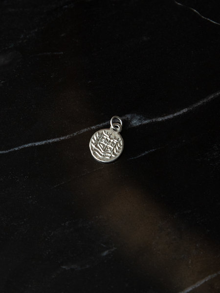 The Two Collectors Charm Lucca Silver