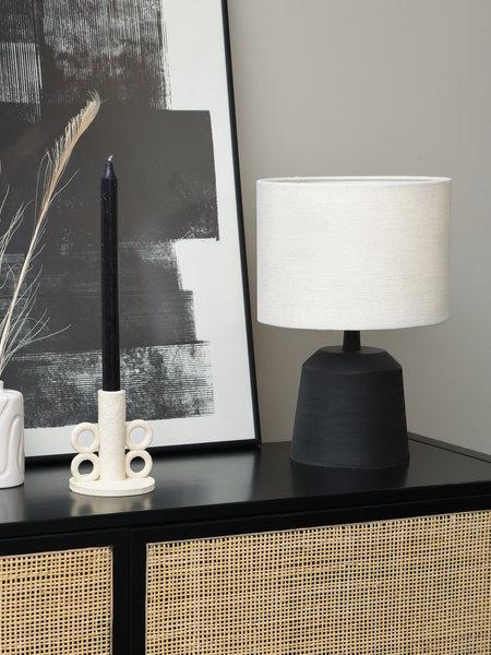 Lamp Lilou + Shade Livigno Eggshell