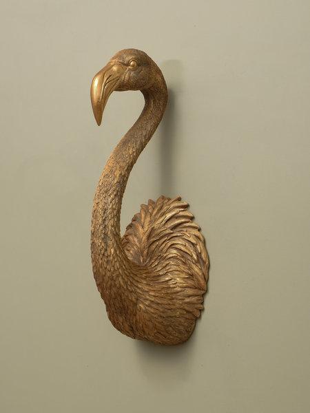 Werner Voss Flamingo Wall Hanger Gold