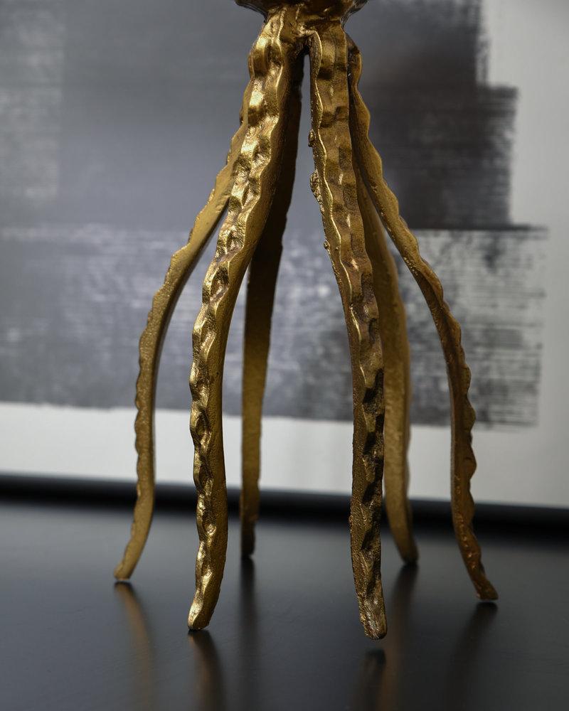 Ornament Octopus Antique Bronze