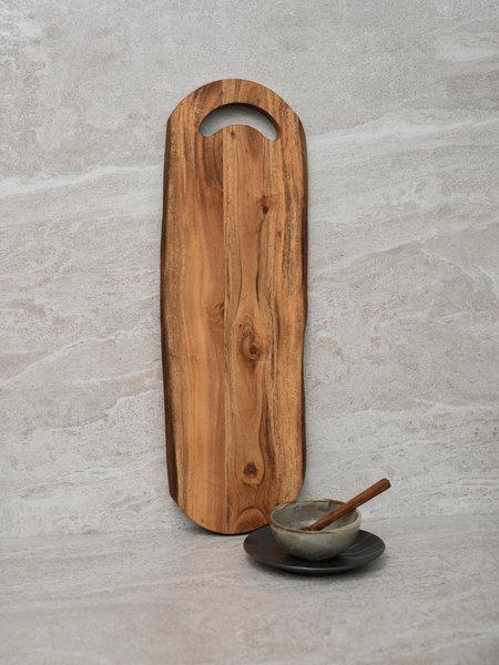 Cutting Board Acacia Wood Long