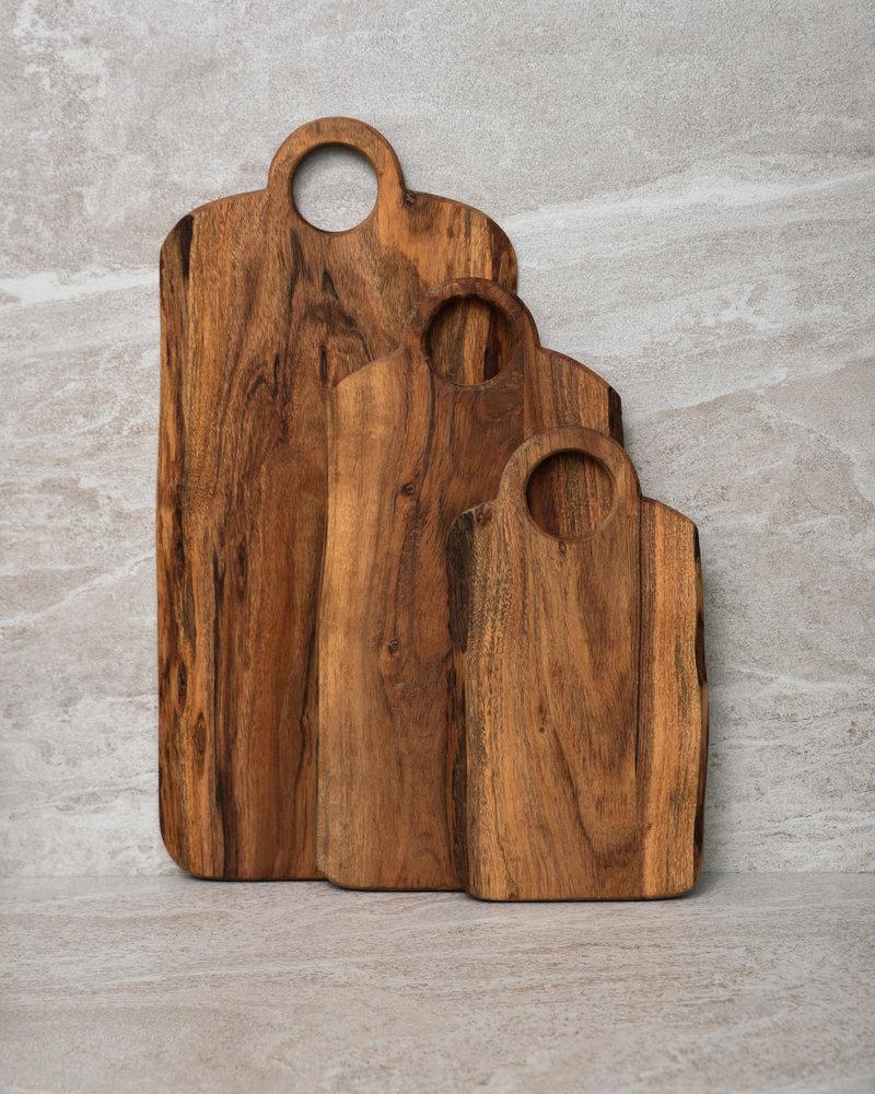 Cutting Board Acacia Wood With Handle