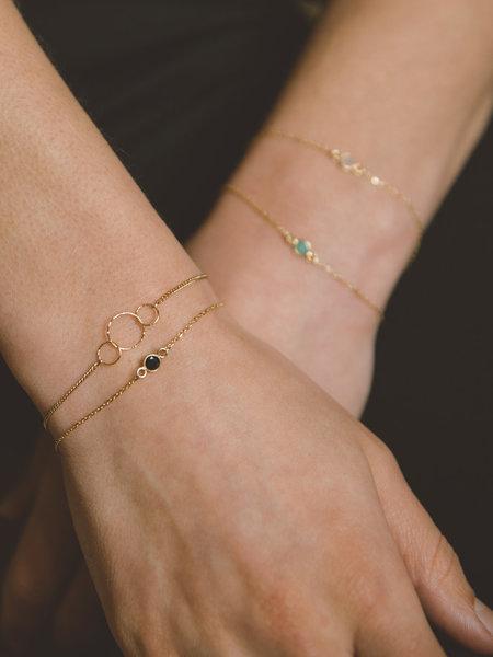 Ess Yello Bracelet Solo Mini Dot Black Gold