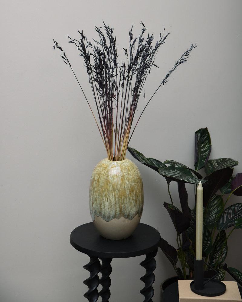 Vase Biacco Ceramic Olive Green