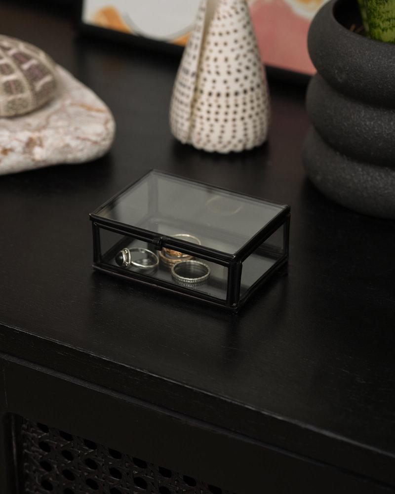 Box Glass Black