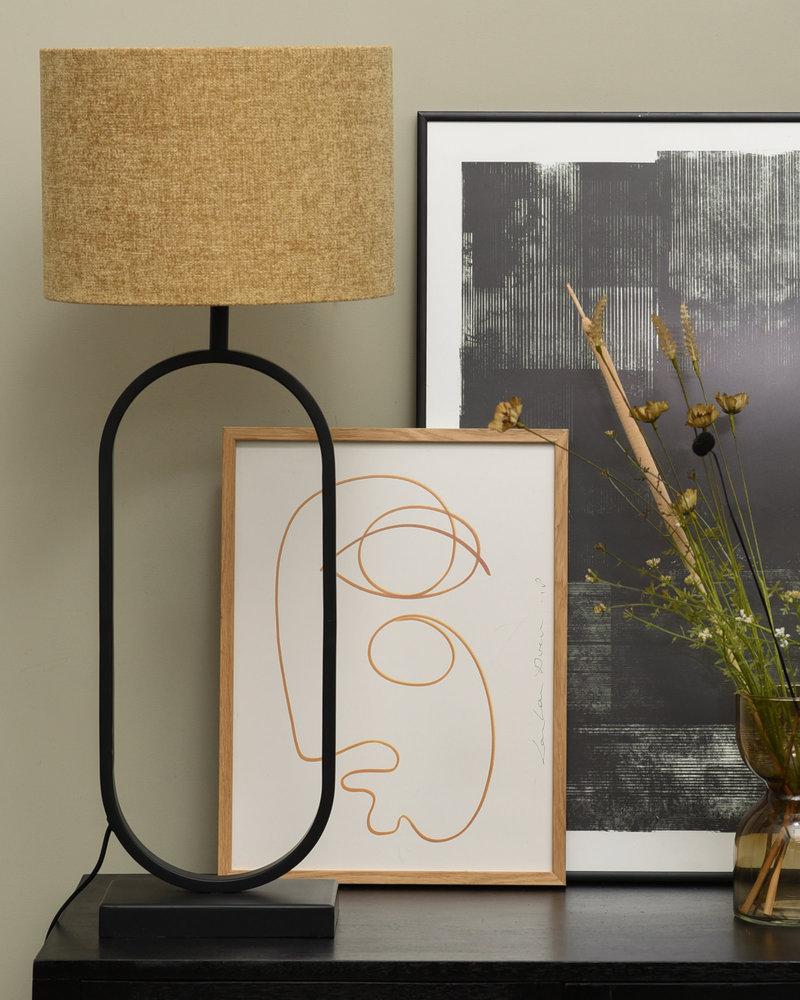 Lamp Jamiri + Shade Fancy Gold
