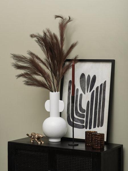 Vase Curve White