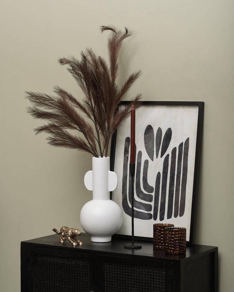 Vase Curve White Large