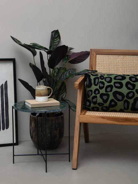 Cushion Leopard Green