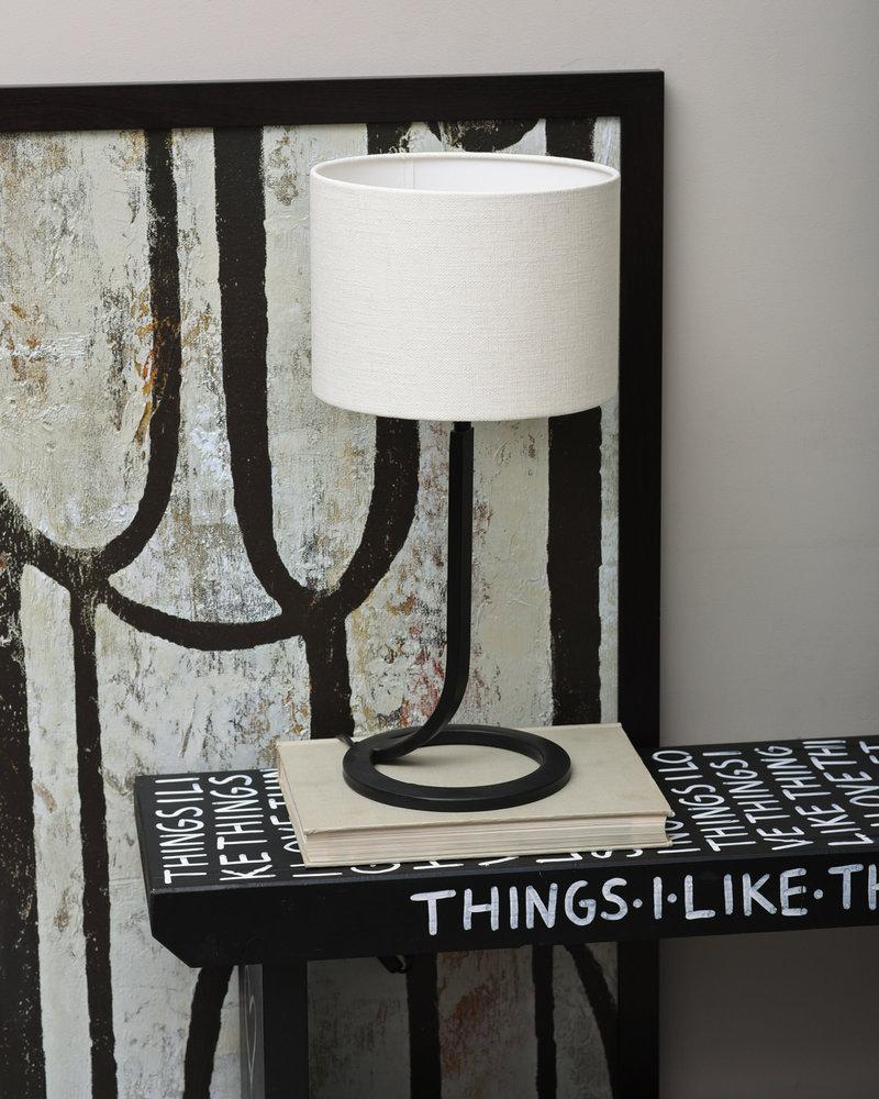 Lamp Mavey + Shade Livigna Eggshell