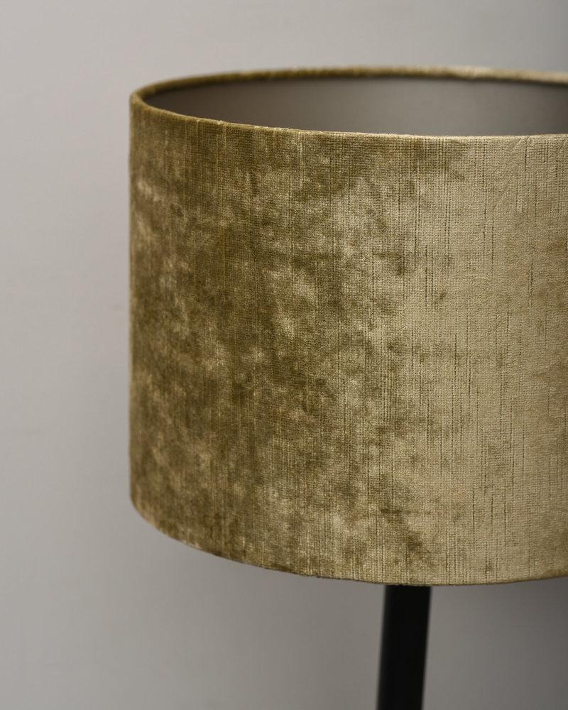 Lamp Dennis + Shade Gemstone Olive