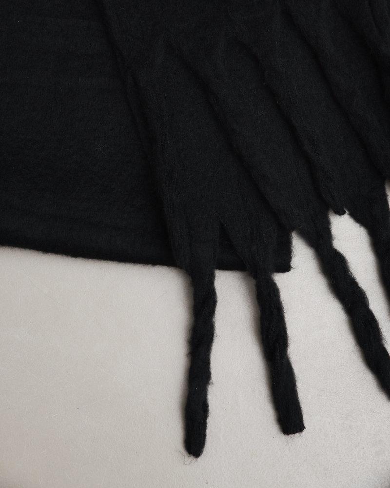 Scarf Between Black