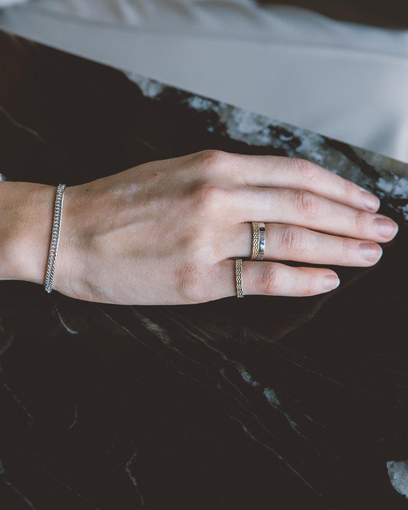 Chunky Chain Silver Bracelet
