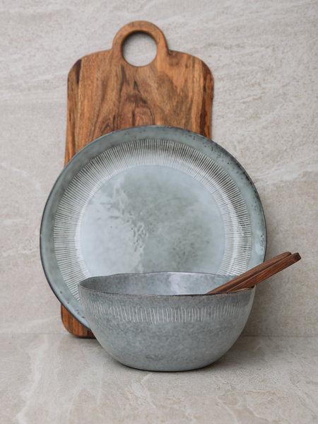 Serving Bowl Enzo Grey
