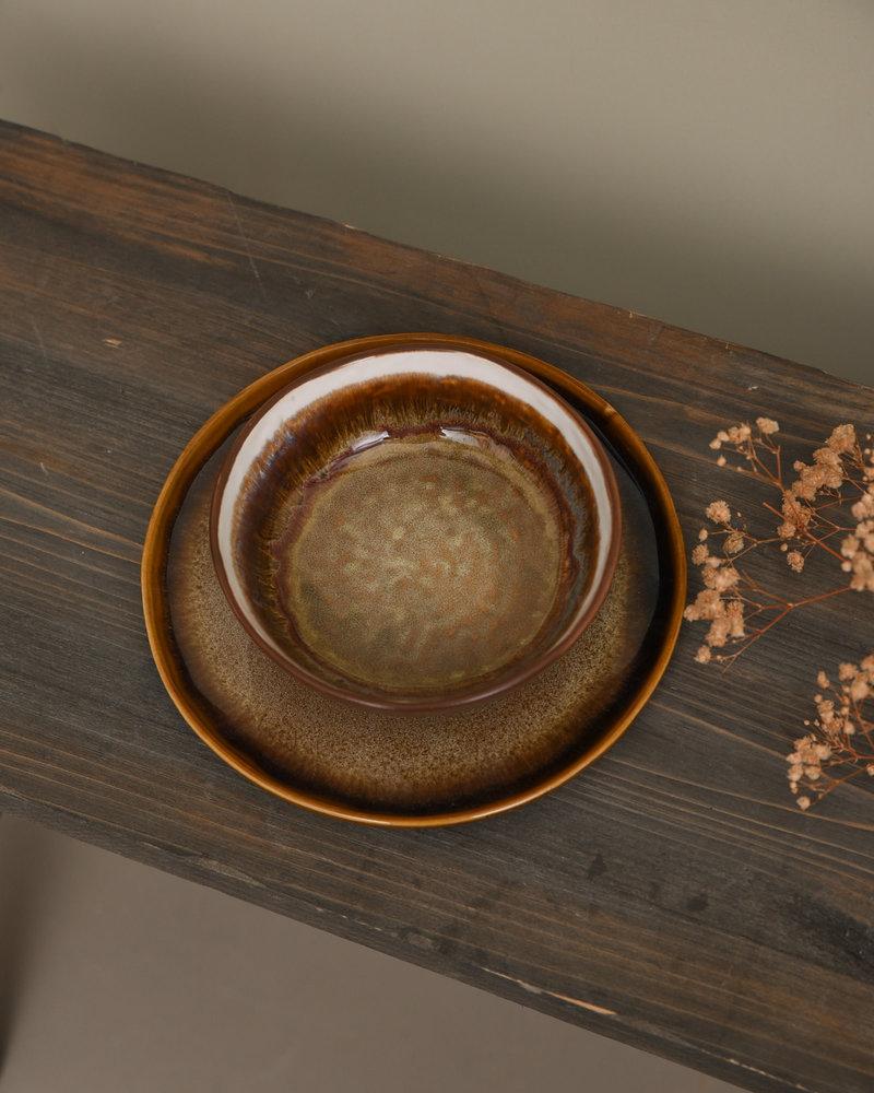 Plate Ono Ocher Sand
