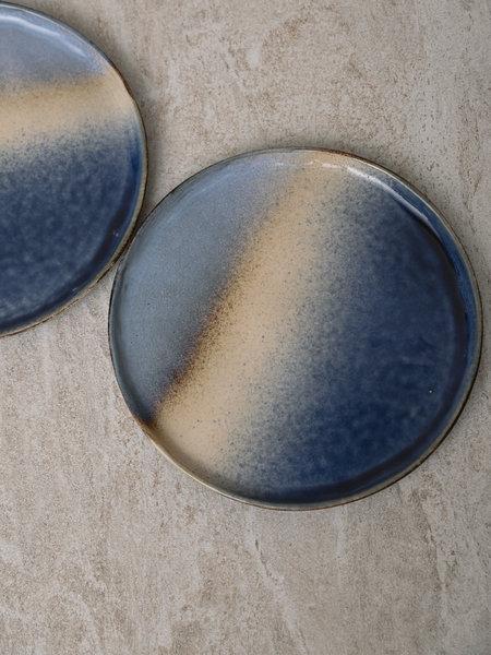 Basik Plate Ivy Blue Sand