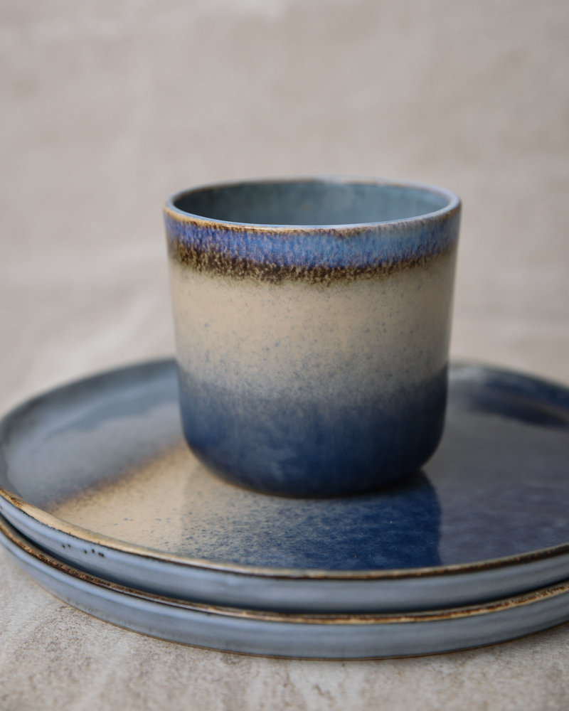 Plate Ivy Blue Sand