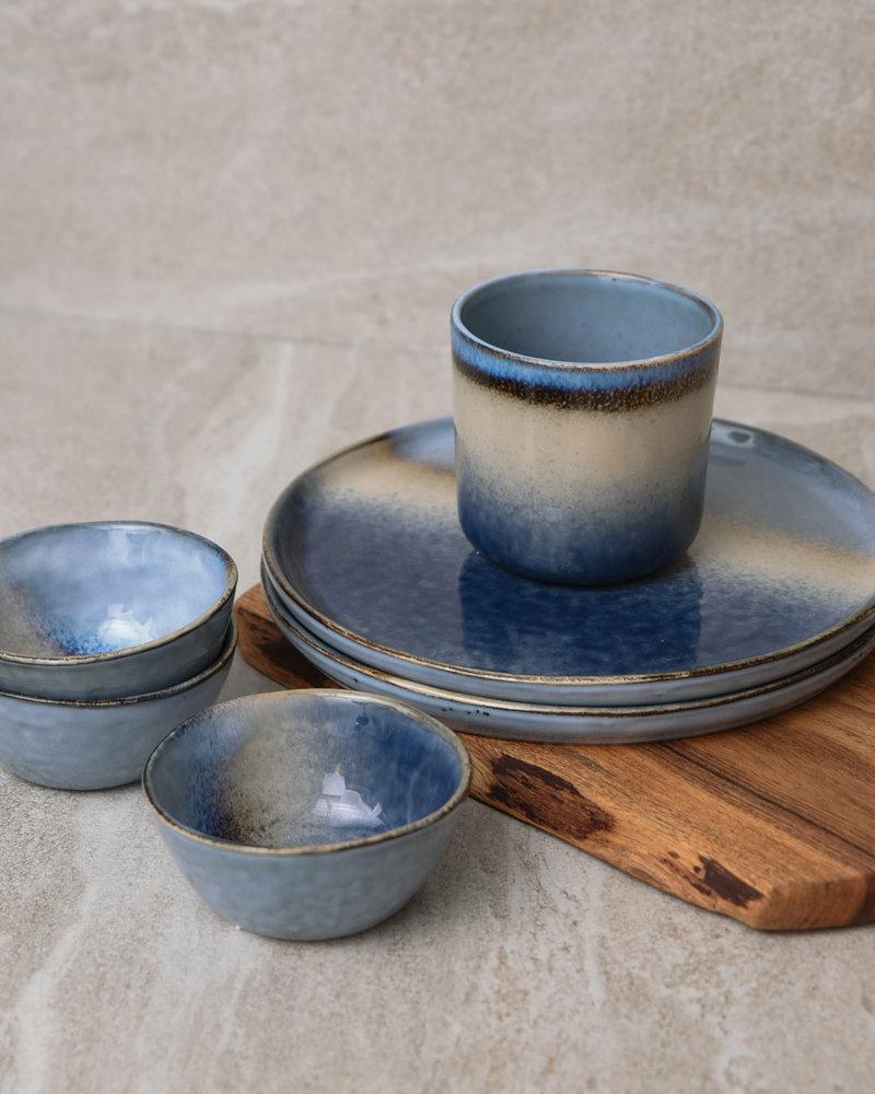 Plate Ono Blue Sand