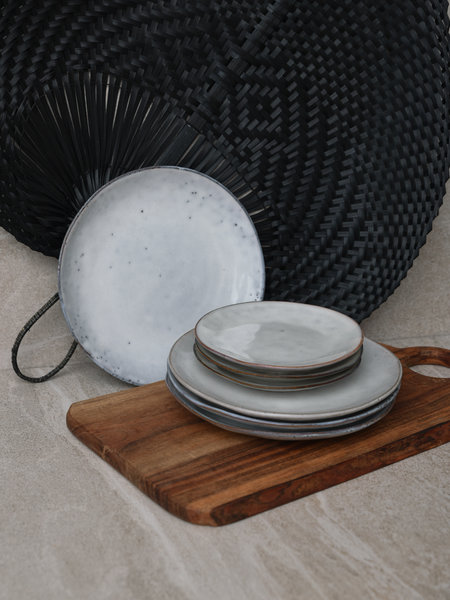 Broste Breakfast Plate Sand