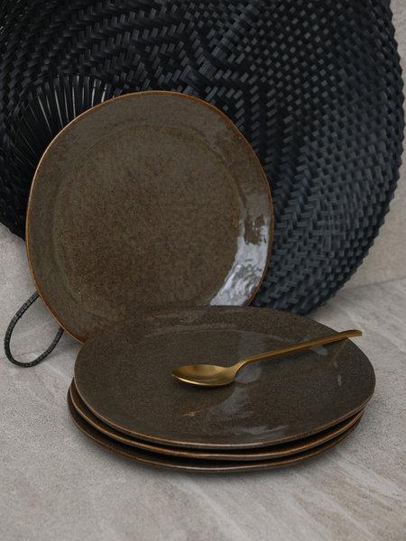 Pomax Dinner Plate Gezellig Brown/Green